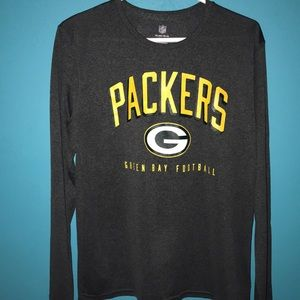 Wisconsin packers dry fit long sleeve